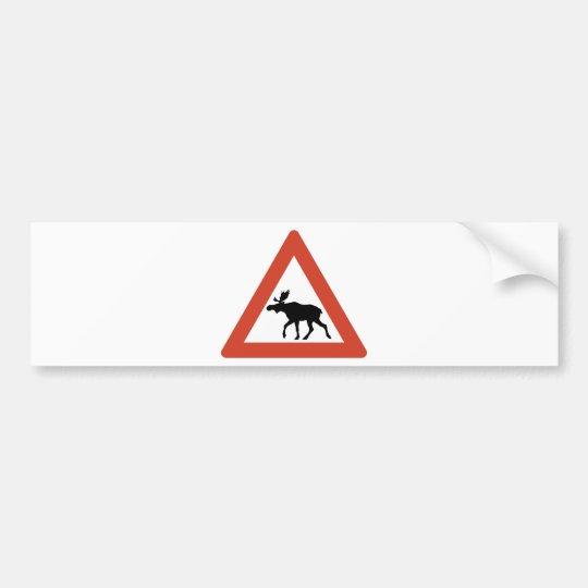 Norwegian Elk Bumper Sticker