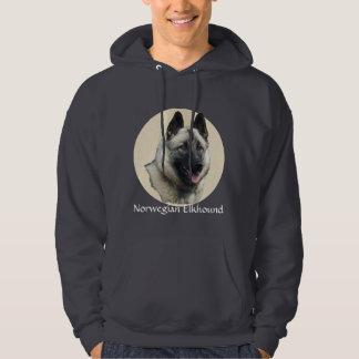 Norwegian Elkhound Art Hoodie