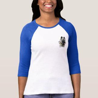 Norwegian Elkhound Art T-Shirt