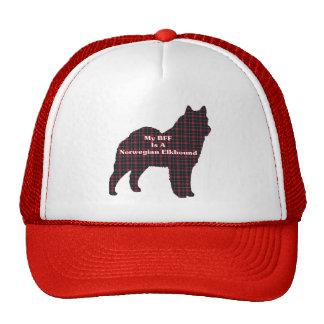 Norwegian Elkhound BFF Cap