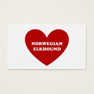 Norwegian Elkhound Business Card