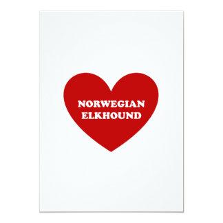 Norwegian Elkhound Card