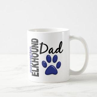 Norwegian Elkhound Dad 2 Coffee Mug