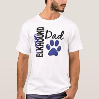 Norwegian Elkhound Dad 2 T-Shirt
