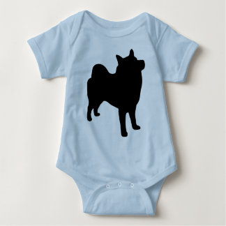 Norwegian Elkhound Gear Baby Bodysuit