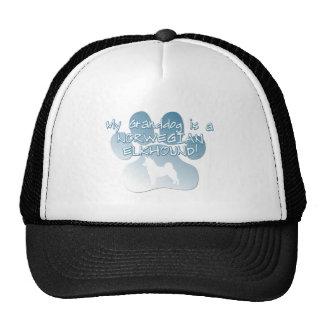 Norwegian Elkhound Granddog Hats
