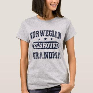 Norwegian Elkhound Grandma T-Shirt