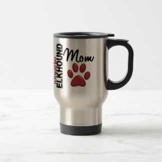Norwegian Elkhound Mom 2 Travel Mug