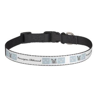 Norwegian Elkhound Pet Collar