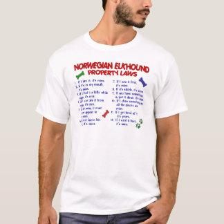 NORWEGIAN ELKHOUND Property Laws 2 T-Shirt