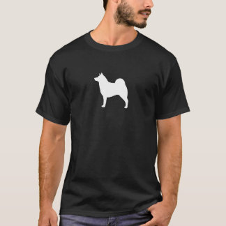 Norwegian Elkhound Silhouette T-Shirt