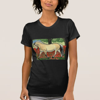 Norwegian Fjord HORSE ART T-Shirt