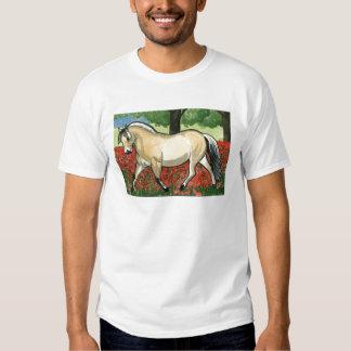 Norwegian Fjord HORSE ART Tee Shirts