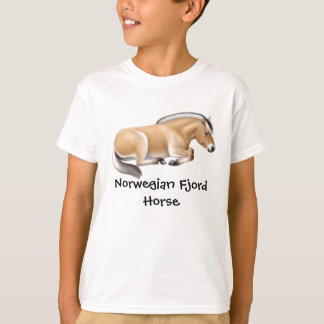 Norwegian Fjord Horse Kids T-Shirt