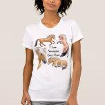 Norwegian Fjord Horse Love Customisable T-shirt