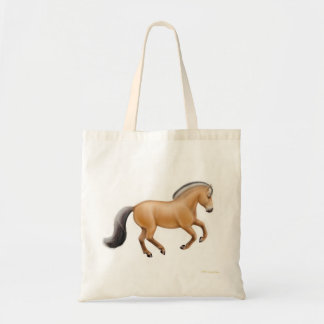Norwegian Fjord Horse Tote Bag