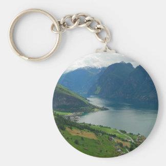 Norwegian Fjord Keychain