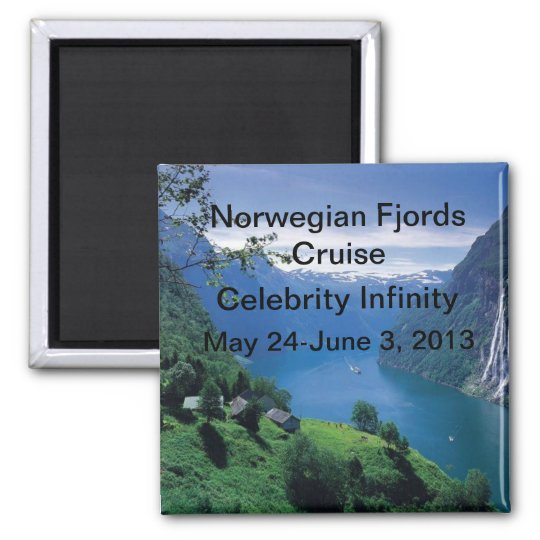 Norwegian Fjords Cruise Magnet