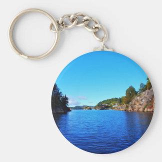 Norwegian fjords keychains