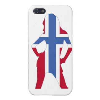Norwegian flag case for the iPhone 5