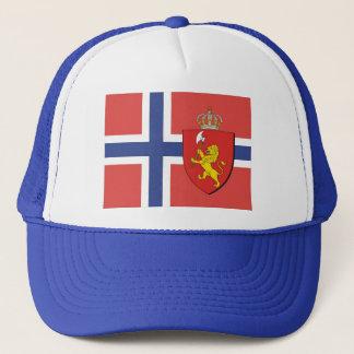Norwegian Flag Hat / Norway Crest Cap