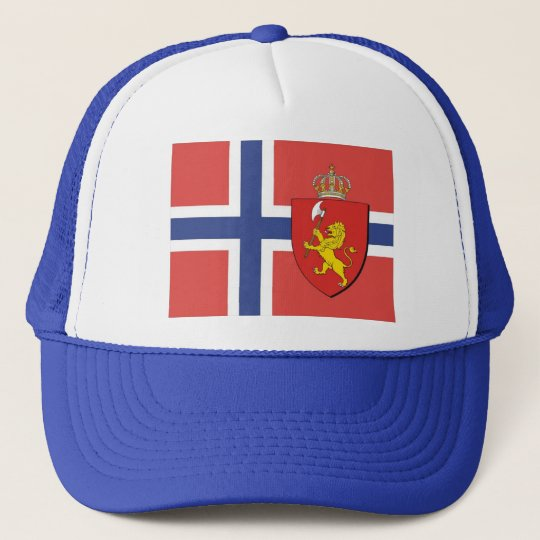 Norwegian Flag Hat / Norway Crest Cap