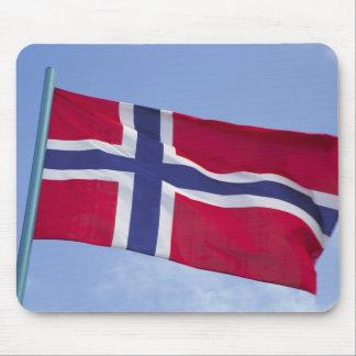 Norwegian flag RF) Mouse Pads