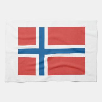 Norwegian Flag Tea Towel