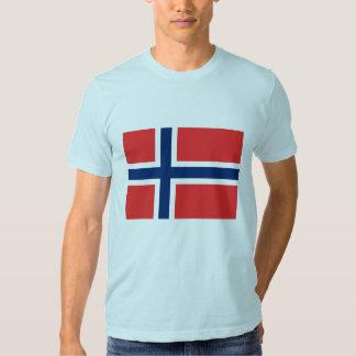 Norwegian Flag Tshirt