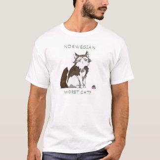 Norwegian Forest - worst cat? T-Shirt