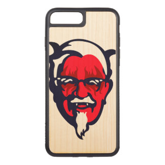 Norwegian Fried Chicken Carved iPhone 8 Plus/7 Plus Case