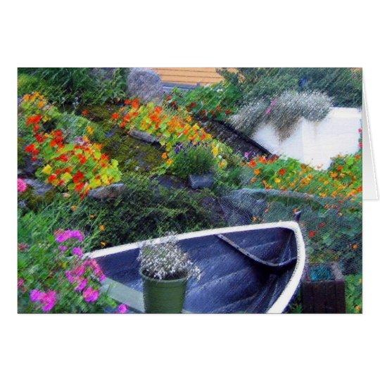"""Norwegian Garden"" Greeting Card"