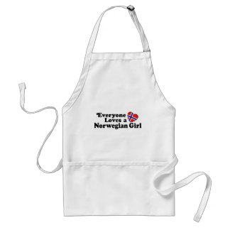 Norwegian Girl Standard Apron