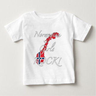 Norwegian Girls Rock! Baby T-Shirt