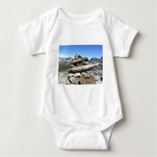 Norwegian Glacier Baby Bodysuit