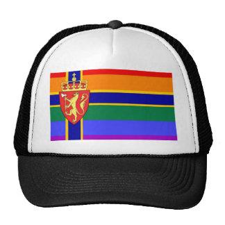 Norwegian GLBT Pride Flag Cap