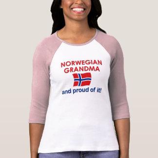 Norwegian Grandma-Proud of it T-Shirt