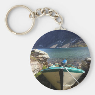 Norwegian Lake Key Ring