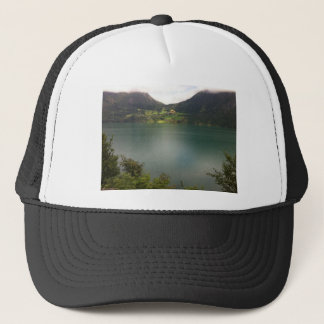 Norwegian Lake Trucker Hat