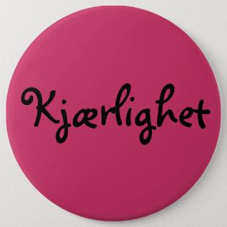 Norwegian Love 6 Cm Round Badge