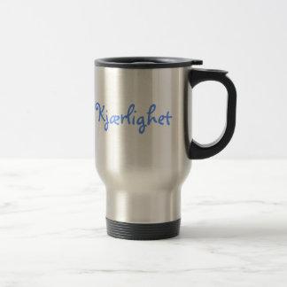 Norwegian Love Stainless Steel Travel Mug