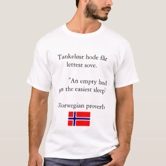 Norwegian Proverb T-Shirt