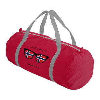 Norwegian Shades custom duffle bags