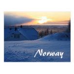 Norwegian Snow/Norway Post Cards