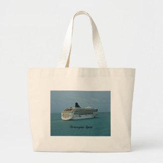 Norwegian Spirit Jumbo Tote Bag