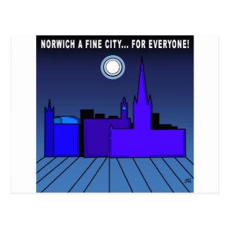 Norwich a Fine City For Everyone Postcard