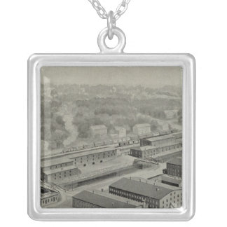 Norwich Bleachery 2 Silver Plated Necklace