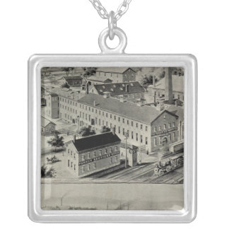 Norwich Bleachery Silver Plated Necklace