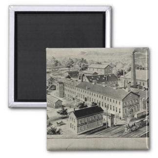Norwich Bleachery Square Magnet