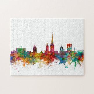 Norwich England Skyline Jigsaw Puzzle